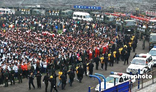 湖南郴州召开公捕公判大会图片