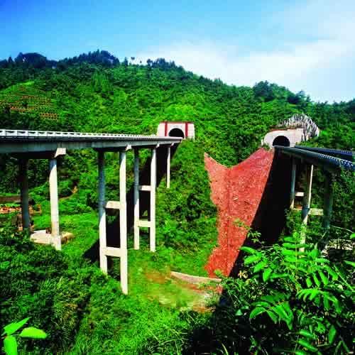 [新闻] 20081218,常吉高速公路通往湘西...... - 路人@行者 - 路人@行者
